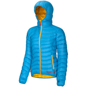 Ocun Tsunami Jacket Damen blue/yellow